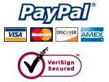 All Payments Go Via Secure PayPal